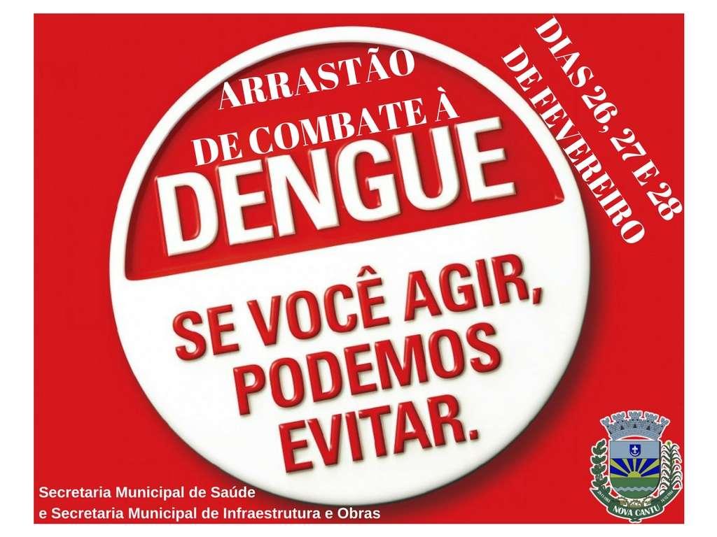 Arrastão de Combate à Dengue Dias 26, 27 e 28 de Fevereiro - Galeria de Imagens