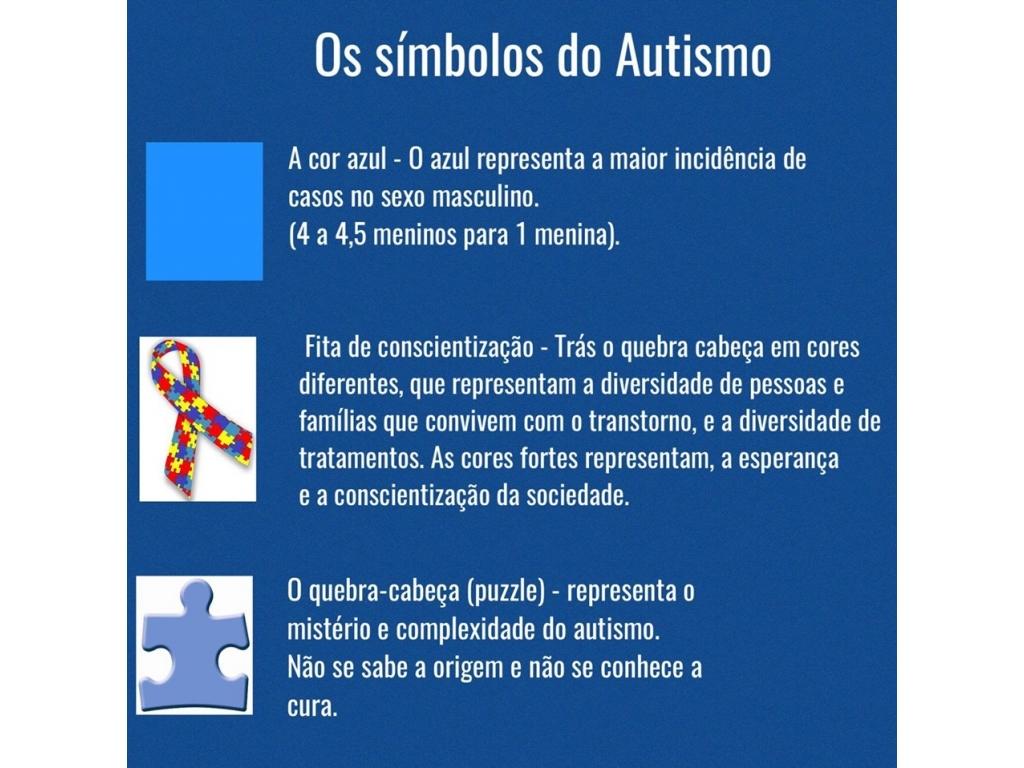 Professores e Alunos da APAE Realizam Conscientização Sobre Autismo - Galeria de Imagens