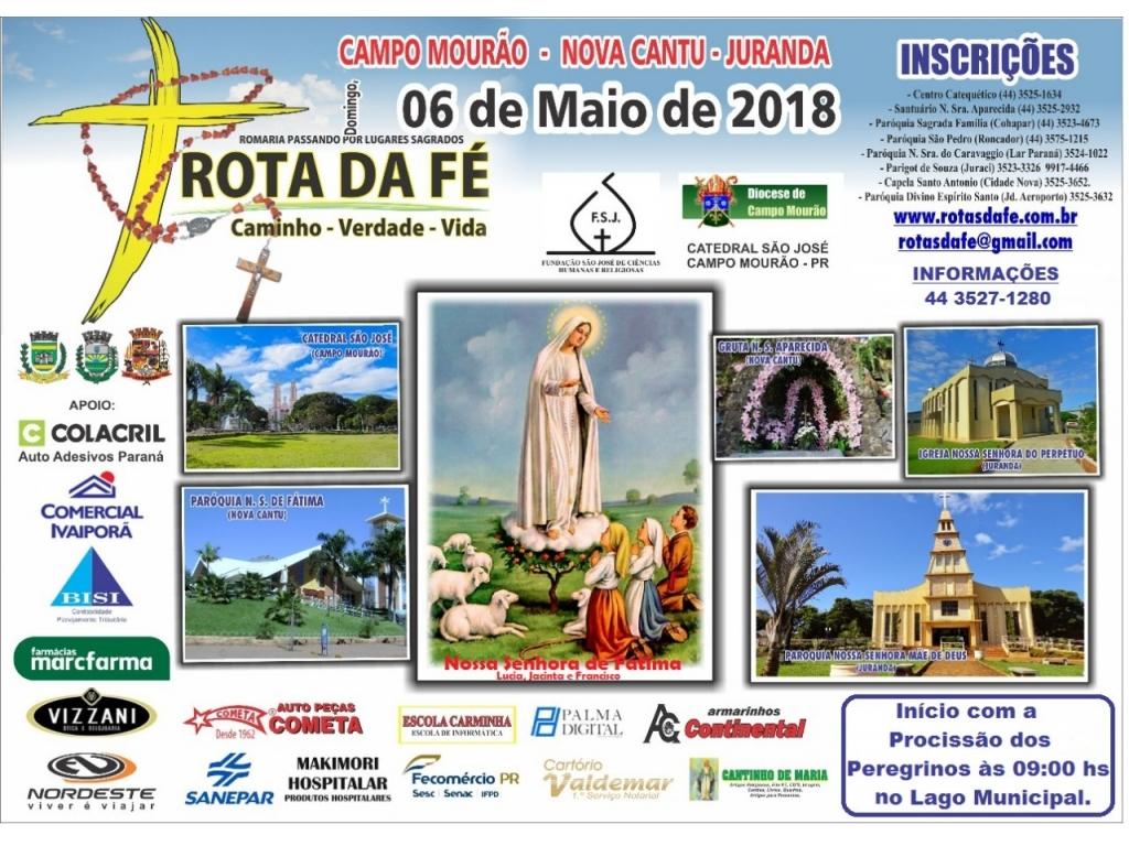 NOVA CANTU RECEBERÁ A PRÓXIMA ROTA DA FÉ NO DIA 06 DE MAIO - Galeria de Imagens