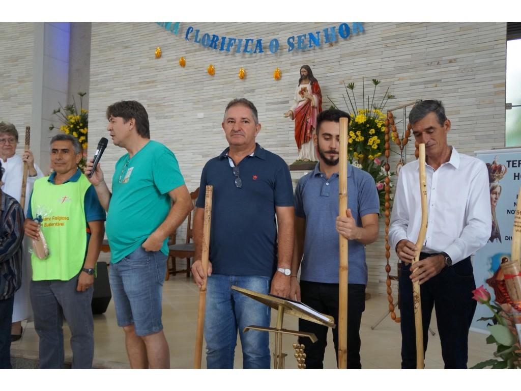 NOVA CANTU RECEBEU NESTE DOMINGO A 53ª ROTA DA FÉ - Galeria de Imagens