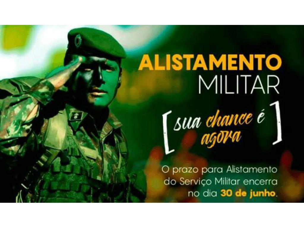 Prazo Para Alistamento do Serviço Militar Termina dia 30 de Junho - Galeria de Imagens