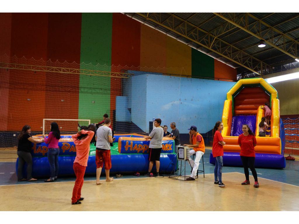 Início das Festividades da Semana da Criança no Ginásio de Esportes - Galeria de Imagens