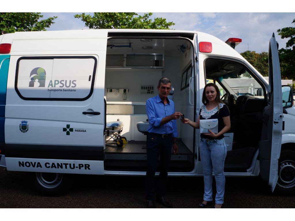 Saúde de Nova Cantu Conquista Ambulância Semi-UTI  - Galeria de Imagens