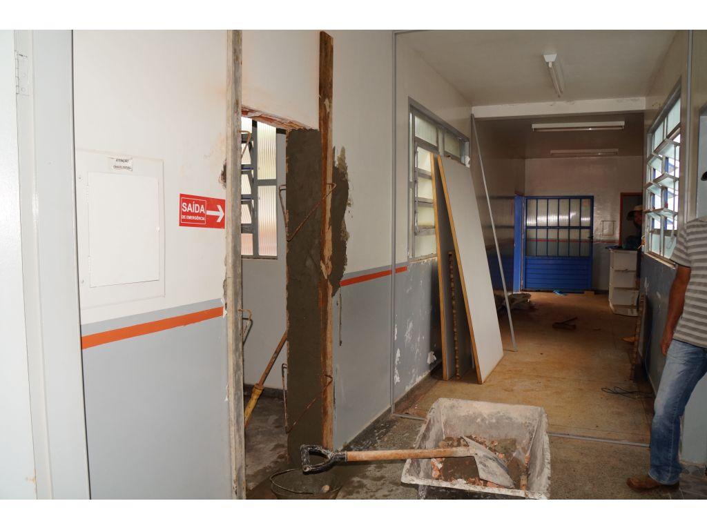 Iniciada a Reforma do Hospital Municipal Alvadi Monticelli - Galeria de Imagens