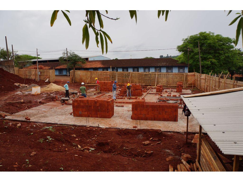 Obras de Construção do Novo Prédio do CRAS Foram Iniciadas em Nova Cantu - Galeria de Imagens