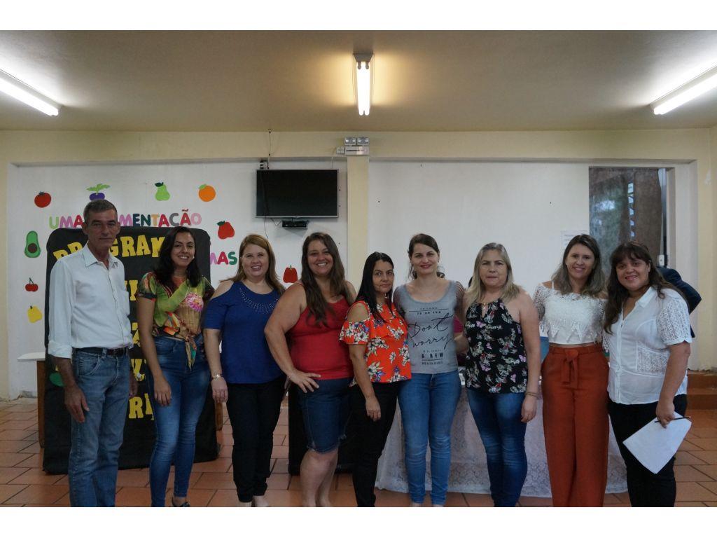 Educadores da rede municipal de ensino de Nova Cantu iniciam a semana pedagógica de 2019 - Galeria de Imagens
