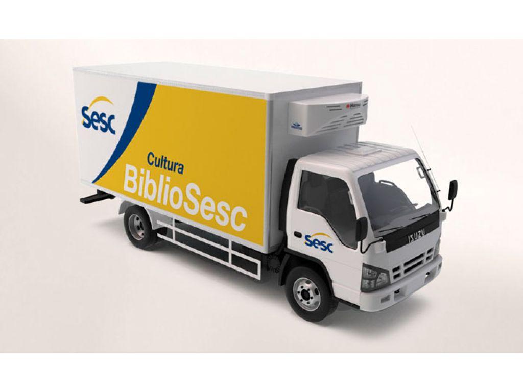 Parceria Trará Caminhão Bibliosesc Pela Primeira Vez à Nova Cantu - Galeria de Imagens