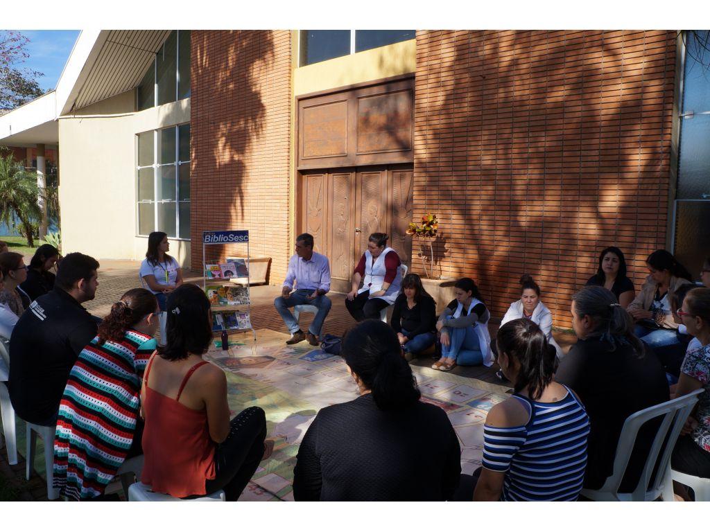 Professores da Rede Municipal Recebem Formação de Contadores de Histórias - Galeria de Imagens