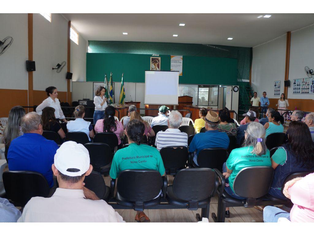 I Conferência Municipal da Pessoa Idosa do Município de Nova Cantu - Galeria de Imagens