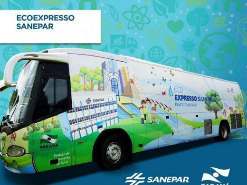 EcoExpresso Sanepar Visitará Nova Cantu Dias 25 e 26 de Junho - Galeria de Imagens