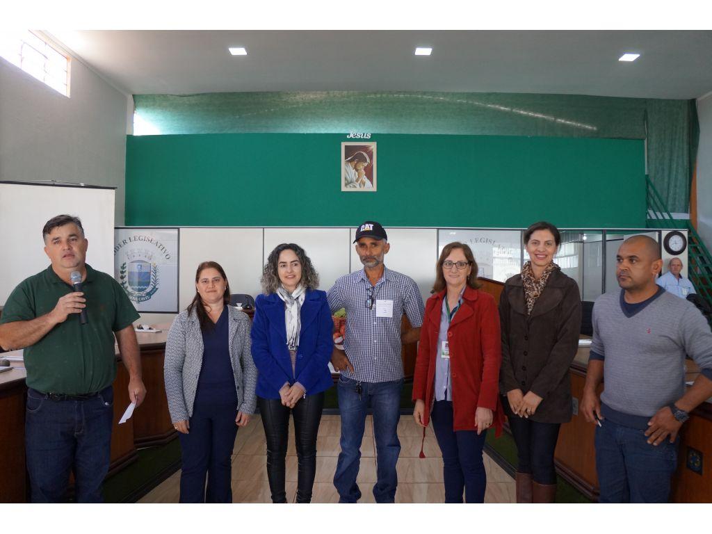 Cantuenses irão representar o município na Conferência Regional de Segurança Alimentar - Galeria de Imagens