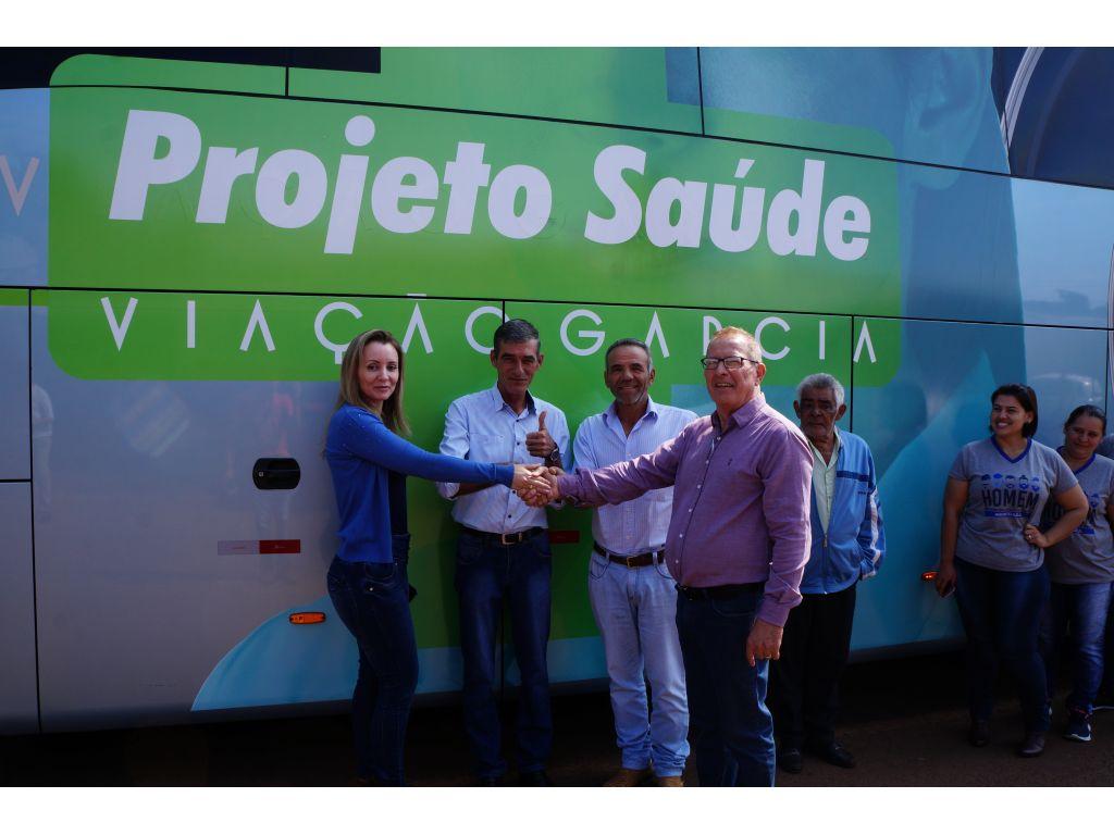 Projeto Saúde, Parceria com Viação Garcia Para Transporte de Pacientes à Curitiba - Galeria de Imagens