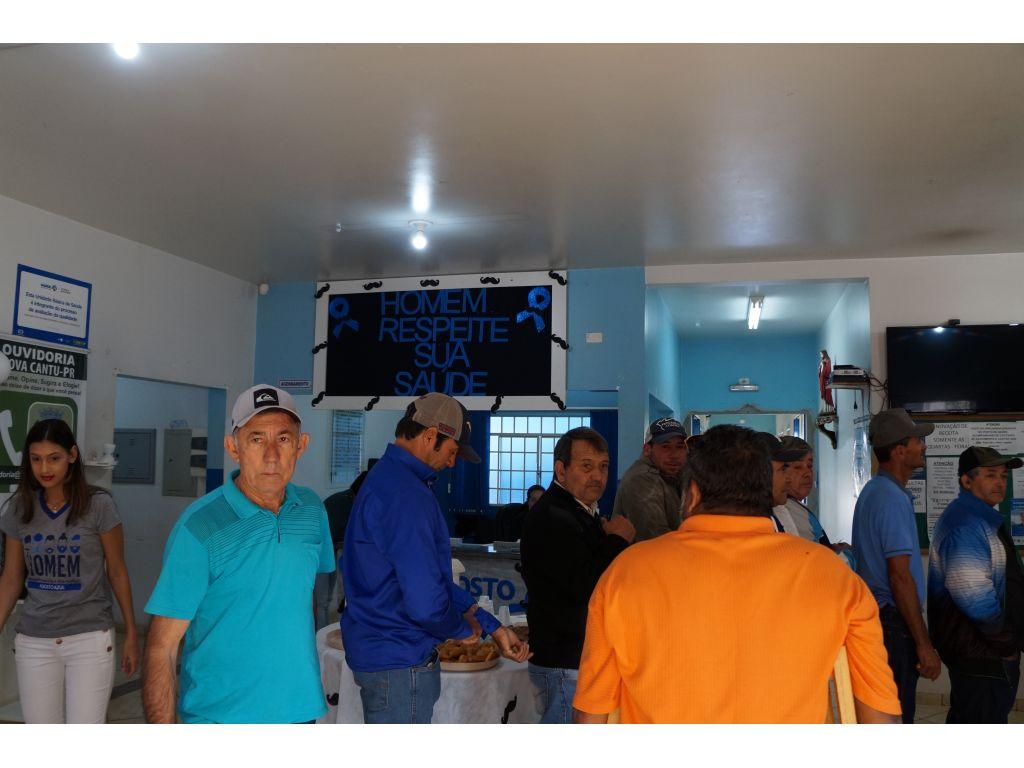 Agosto Azul, Cuidando da Saúde do Homens  - Galeria de Imagens