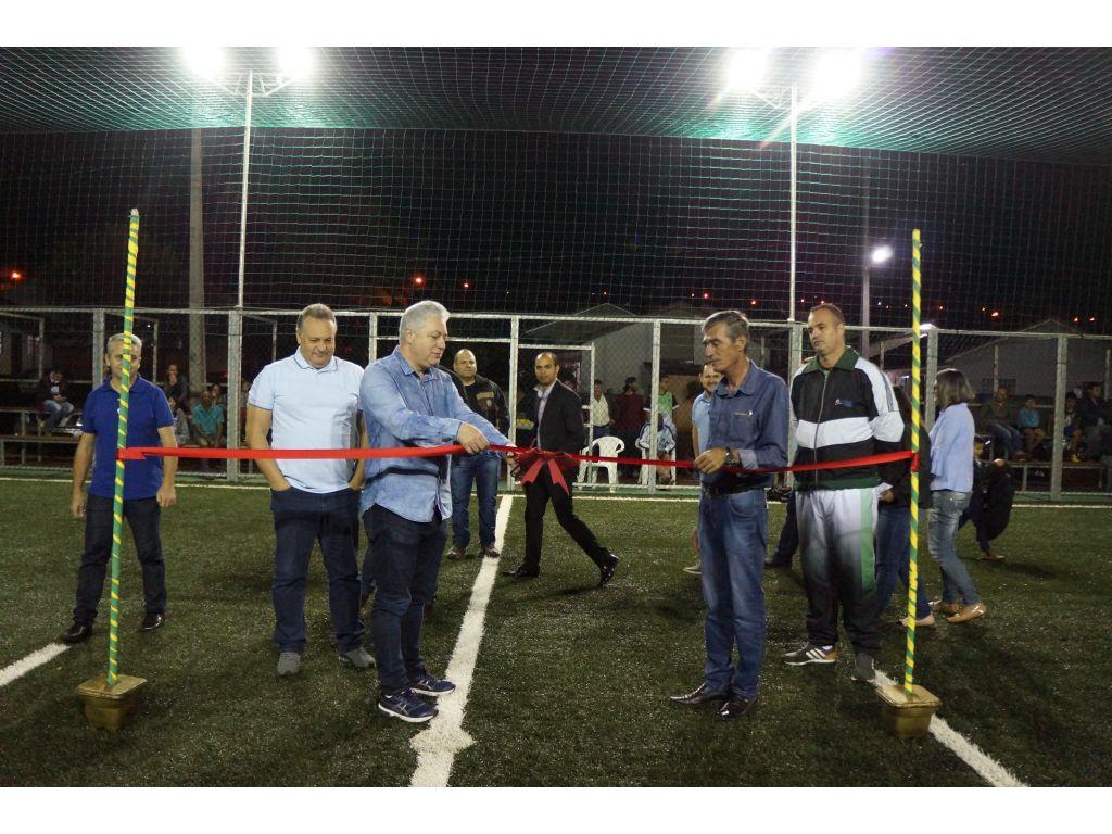 Inauguração da Arena Multiuso de Nova Cantu - Galeria de Imagens