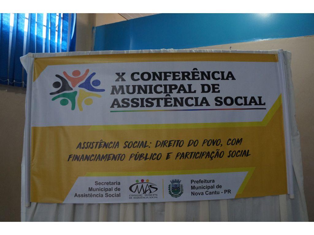 X Conferência Municipal de Assistência Social - Galeria de Imagens