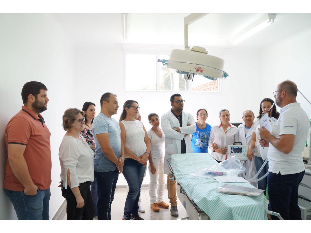 Equipe Médica e de Enfermagem do Hospital Municipal Recebem Treinamento - Galeria de Imagens