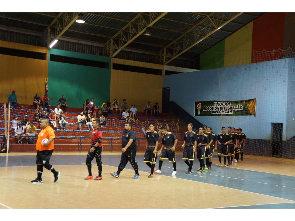 Confira os Resultados da 1ª Rodada do Campeonato Intermunicipal de Futsal - Galeria de Imagens