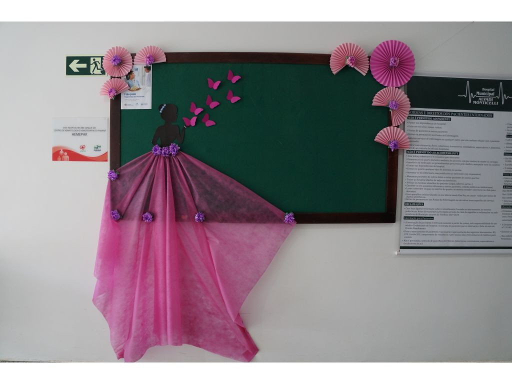 Saúde se Veste de Rosa Para Homenagear Mulheres Que se Amam e se Cuidam - Galeria de Imagens