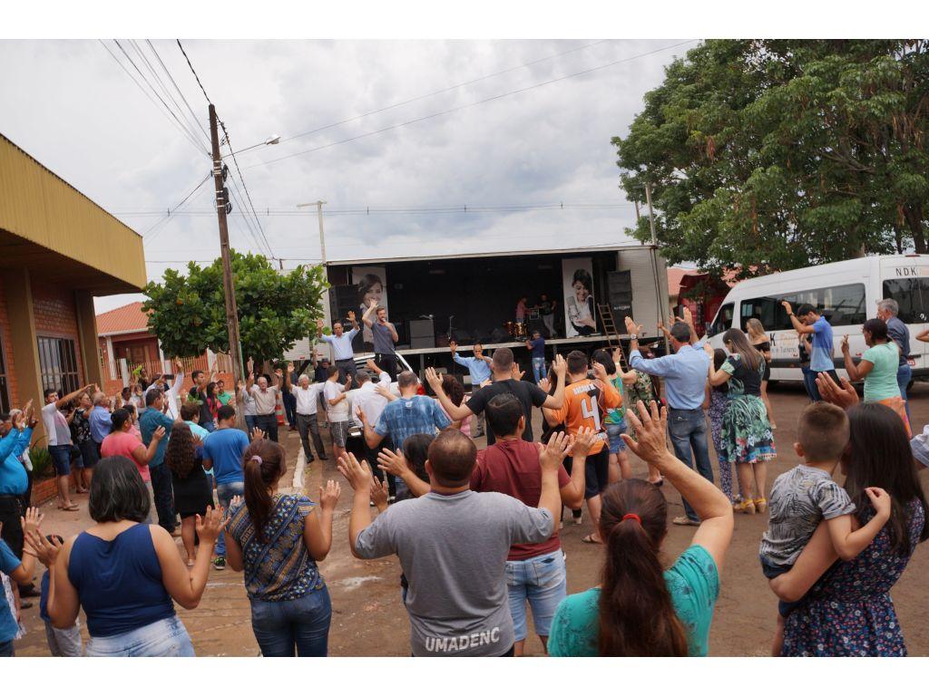 Carreata Marca o 1º Feriado Municipal do Dia do Evangélico - Galeria de Imagens