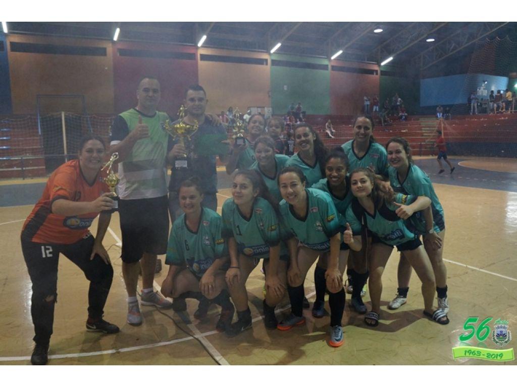Finais do Campeonato Intermunicipal de Futsal Masculino e Feminino de Nova Cantu - Galeria de Imagens