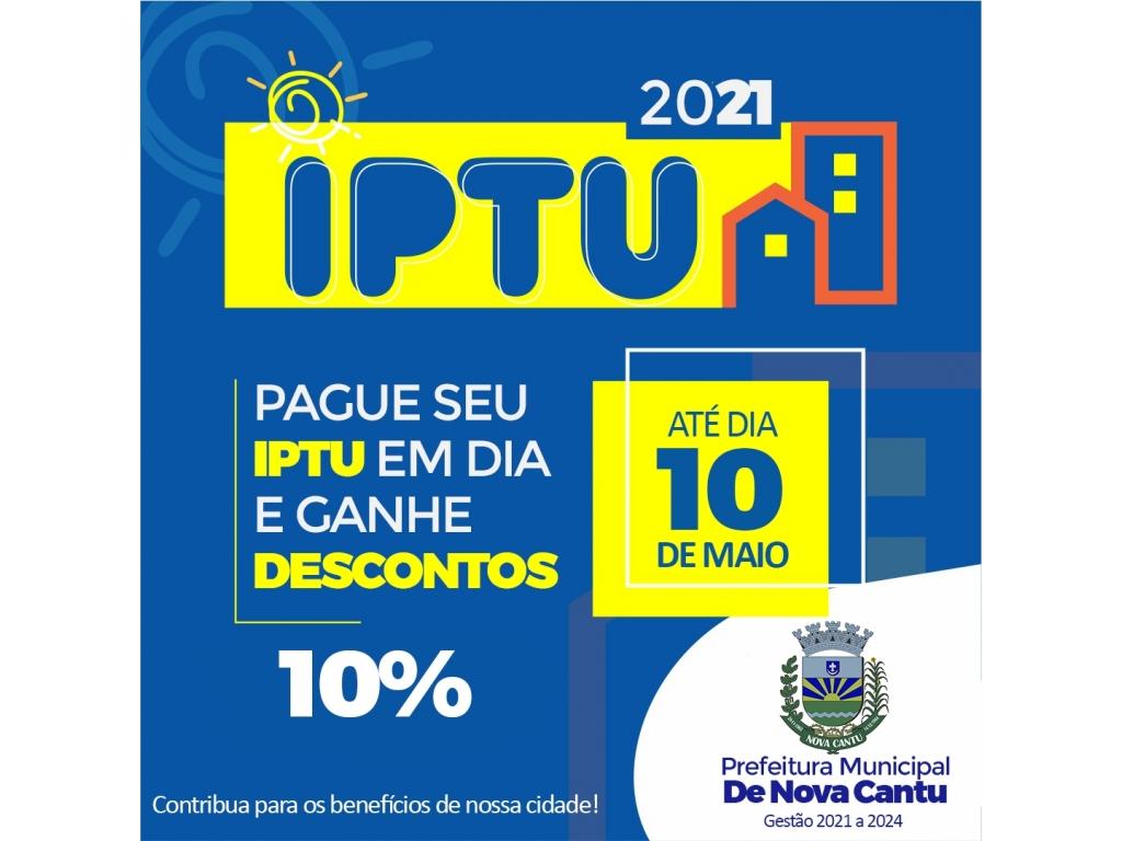 DESCONTO NO IPTU - Galeria de Imagens