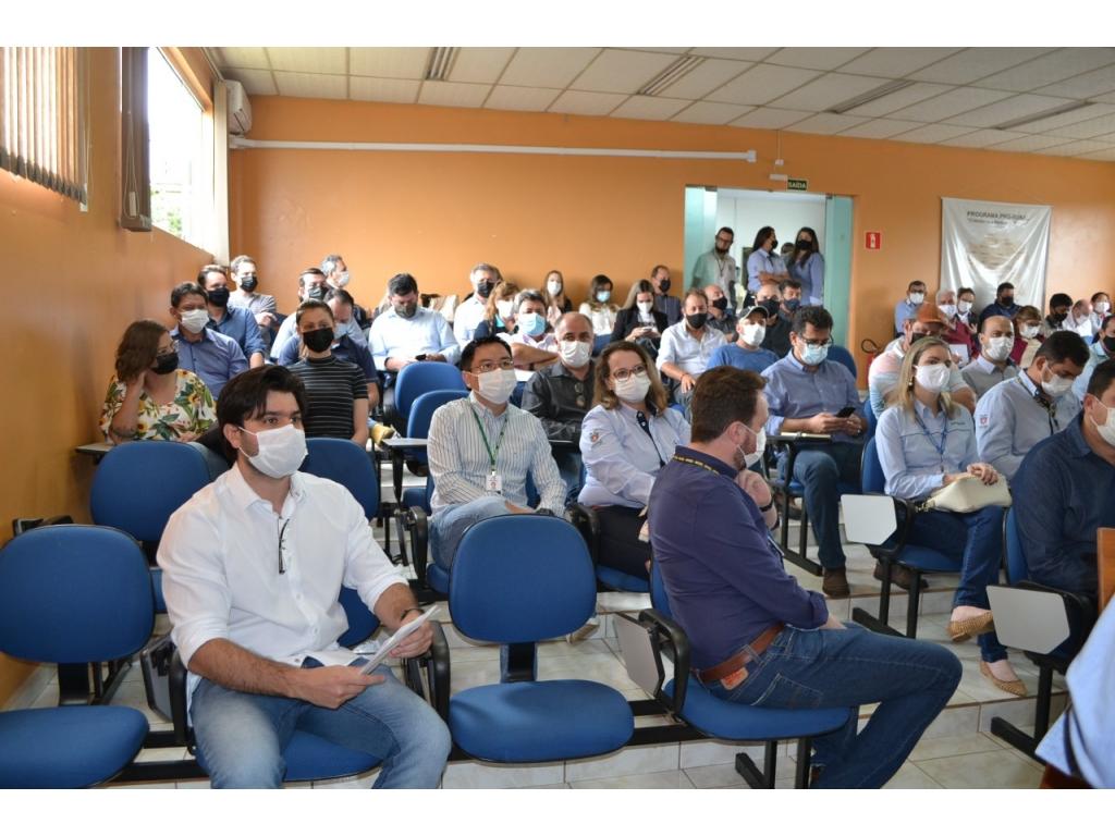 Adesão ao SISBI/POA é destaque na região central do Paraná! - Galeria de Imagens